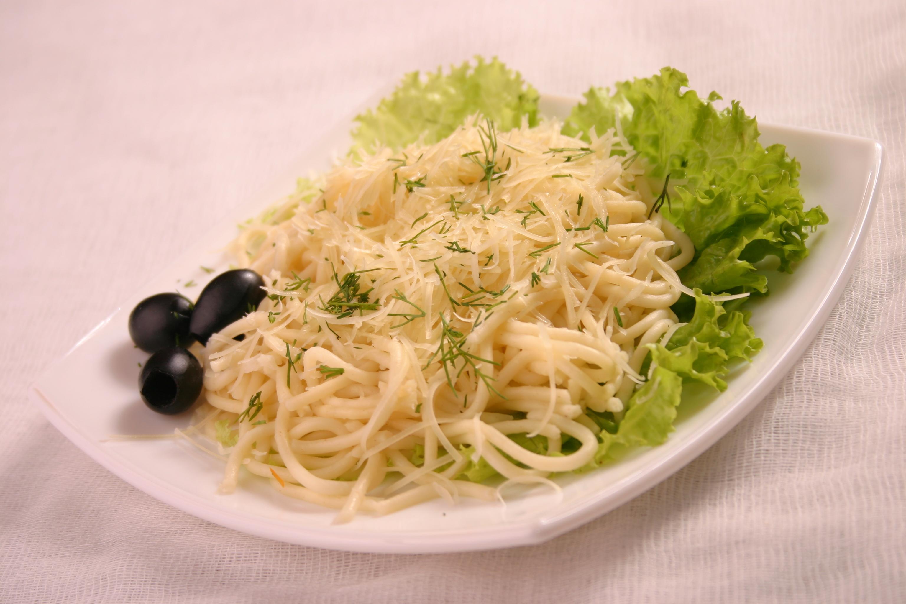 Спагетти с сыром Просто и вкусно! - YouTube